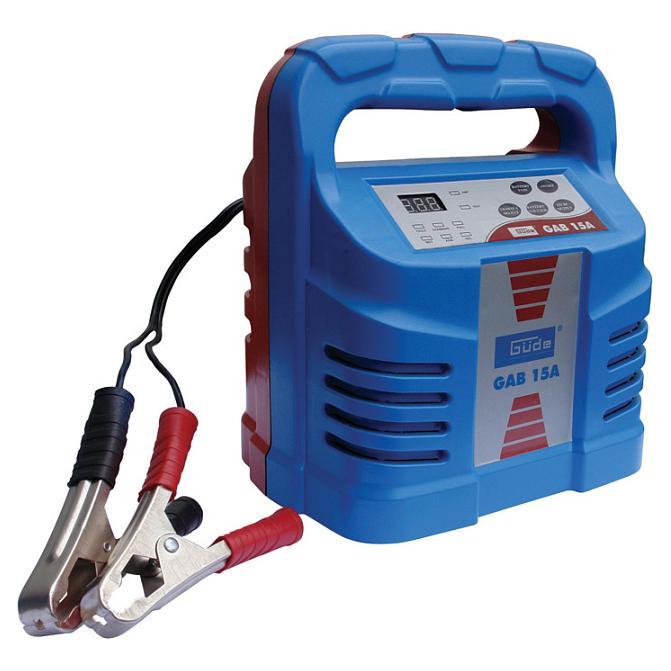 Automatická nabíječka baterií GUDE GAB 15A